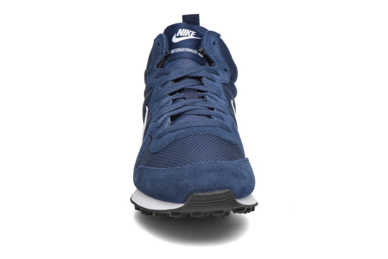 Sneaker Nike Nike Internationalist Mid blau schuhe getragen