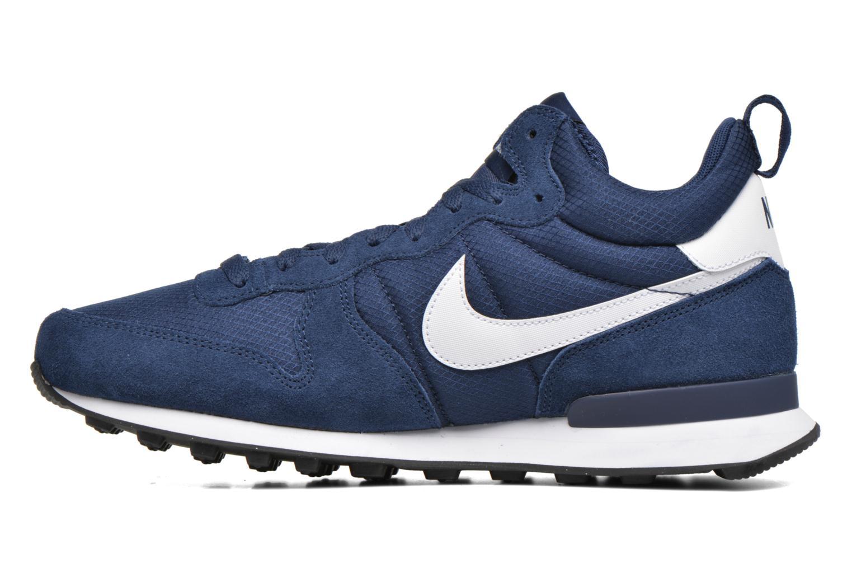 Sneaker Nike Nike Internationalist Mid blau ansicht von vorne