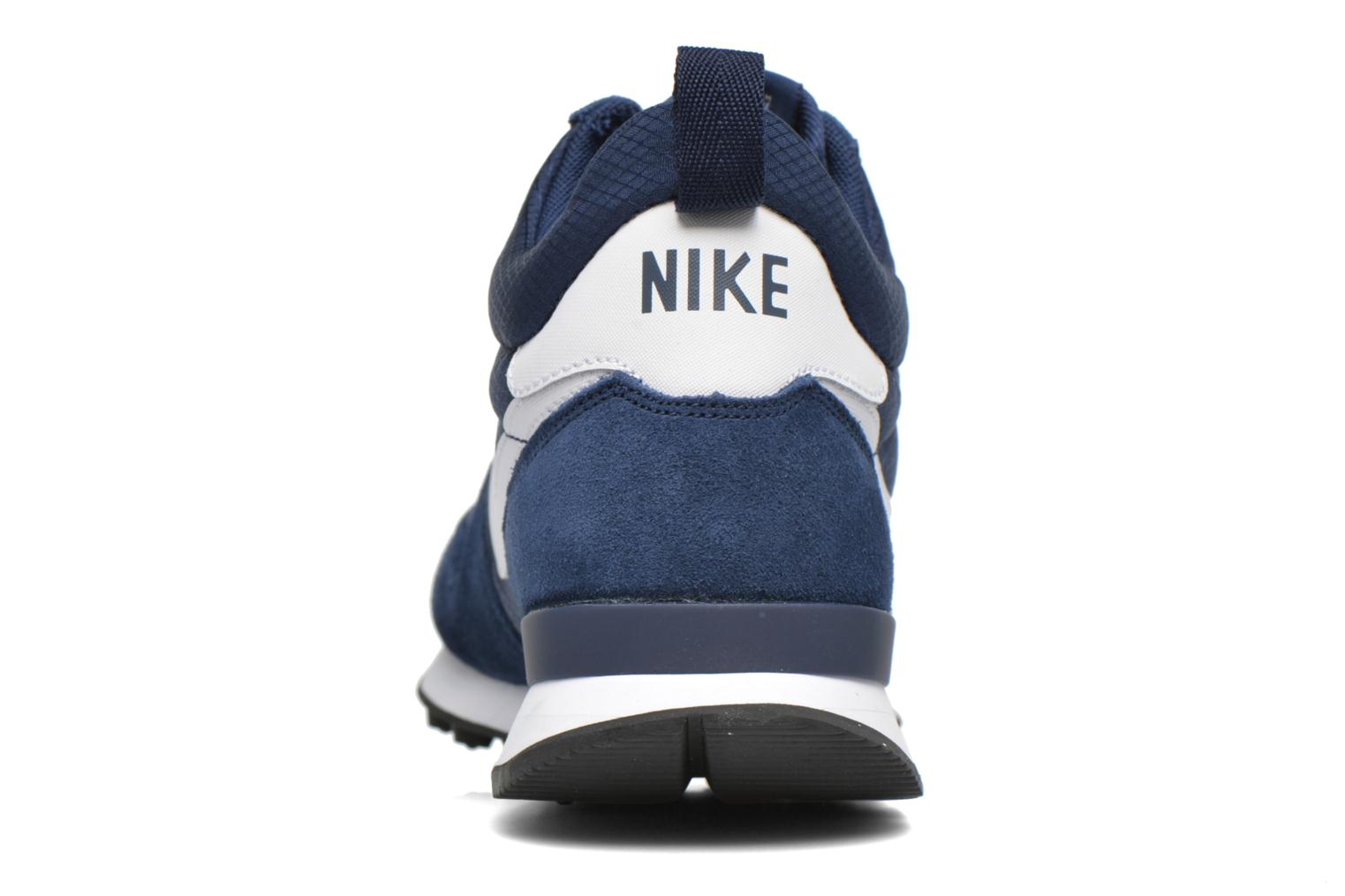 Trainers Nike Nike Internationalist Mid Blue view from the right