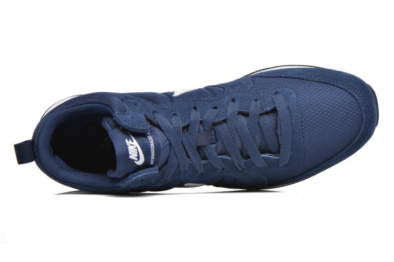 Sneaker Nike Nike Internationalist Mid blau ansicht von links