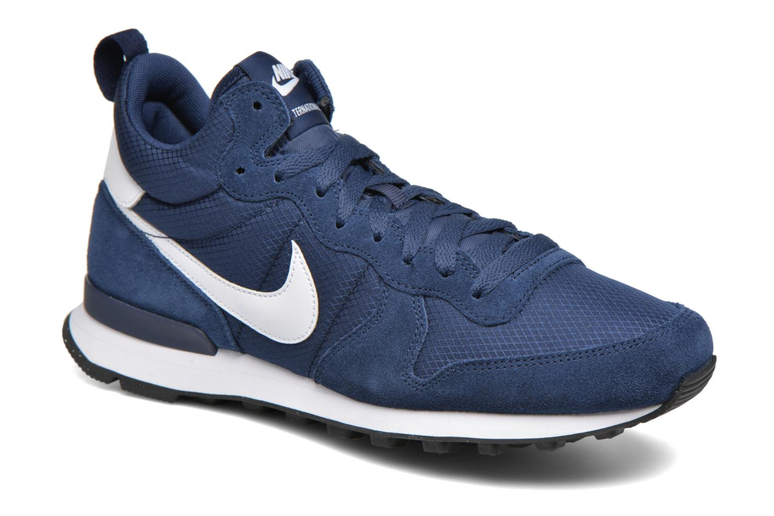 Nike Internationalist Mid Midnight Navy/White-White-Game Royal