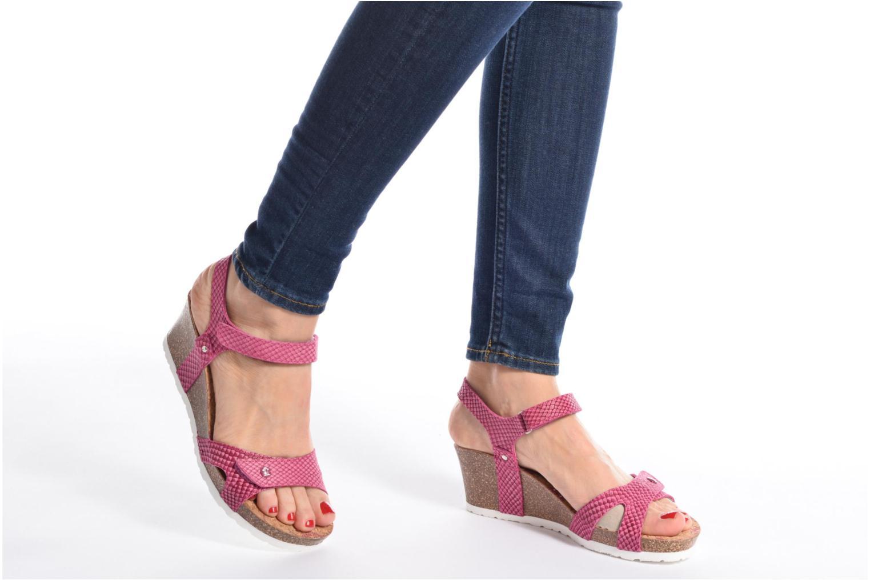 Sandaler Panama Jack Julia Sort se forneden