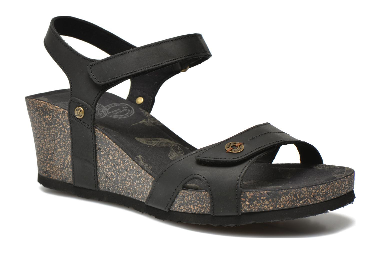 Sandaler Panama Jack Julia Sort detaljeret billede af skoene