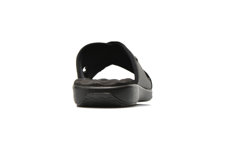 Sandalen Panama Jack Magic schwarz ansicht von rechts