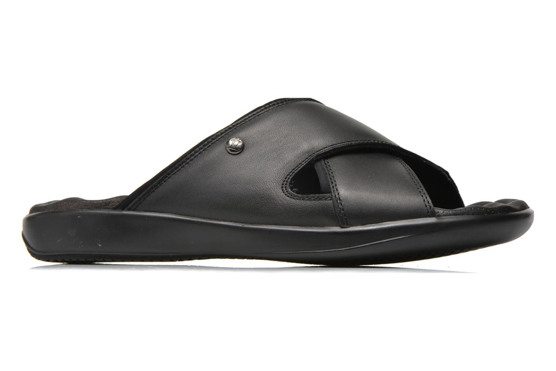 Sandalen Panama Jack Magic schwarz ansicht von hinten