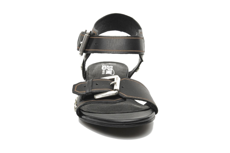 Sandales et nu-pieds SPM Olm Noir vue portées chaussures
