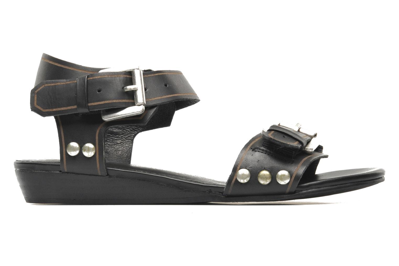 Sandalen SPM Olm schwarz ansicht von hinten