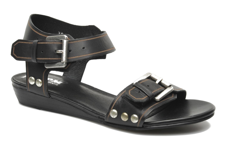 Sandalen SPM Olm Zwart detail
