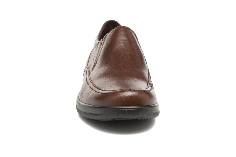 Mocassins Stonefly Season III 1 Marron vue portées chaussures