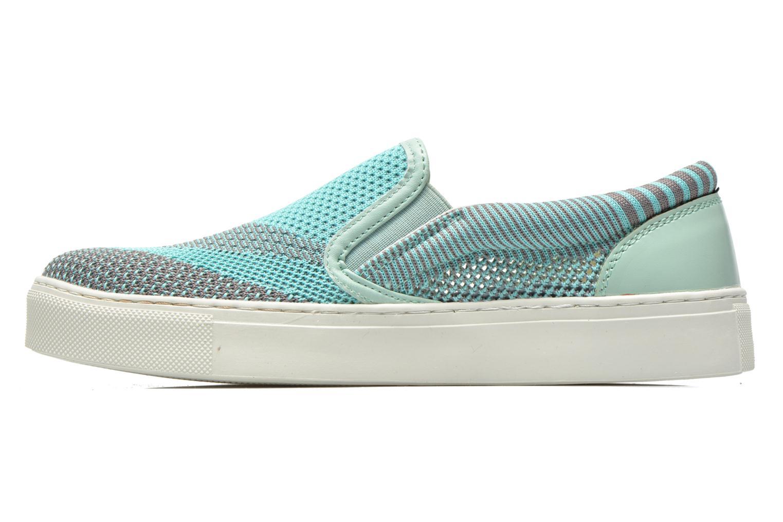 Sneaker Bronx Dean blau schuhe getragen