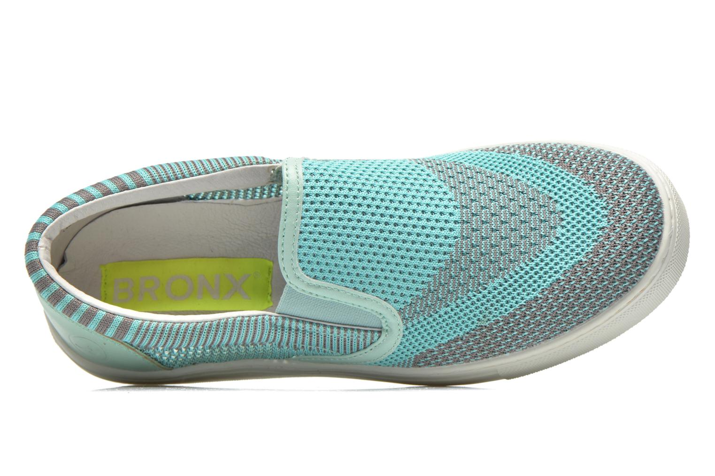 Sneaker Bronx Dean blau ansicht von hinten