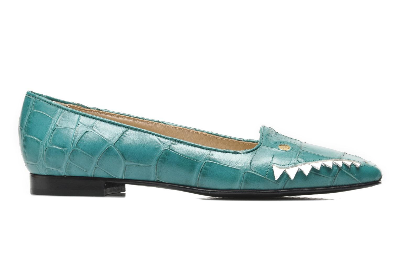 Ballerines Carel Crocodile Vert vue derrière
