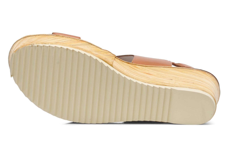 Sandales et nu-pieds Bruno Premi Basak Marron vue haut