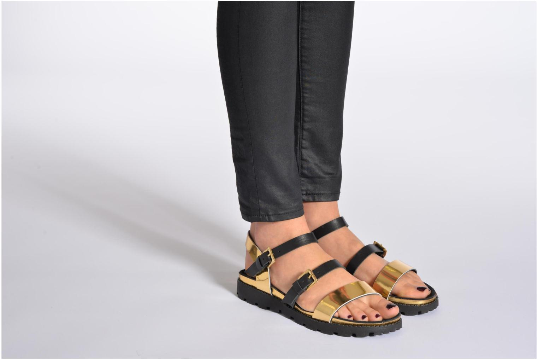 Sandales et nu-pieds Anaki Rio Multicolore vue bas / vue portée sac