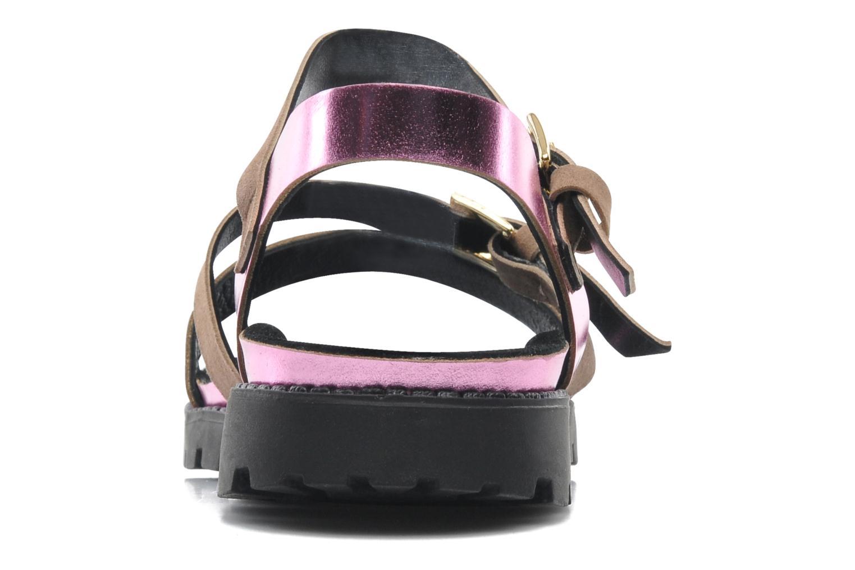 Sandales et nu-pieds Anaki Rio Multicolore vue droite