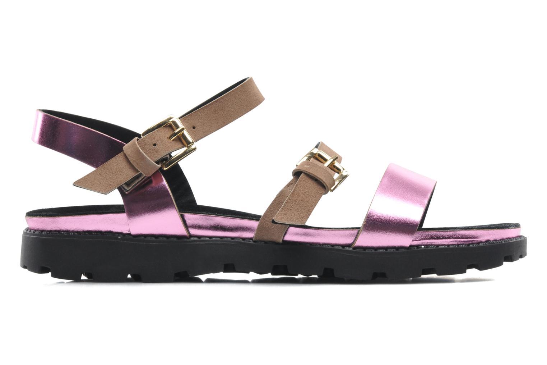 Sandales et nu-pieds Anaki Rio Multicolore vue derrière