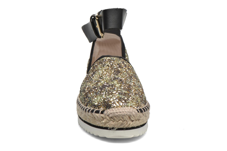 Sandali e scarpe aperte Anaki Chica Oro e bronzo modello indossato