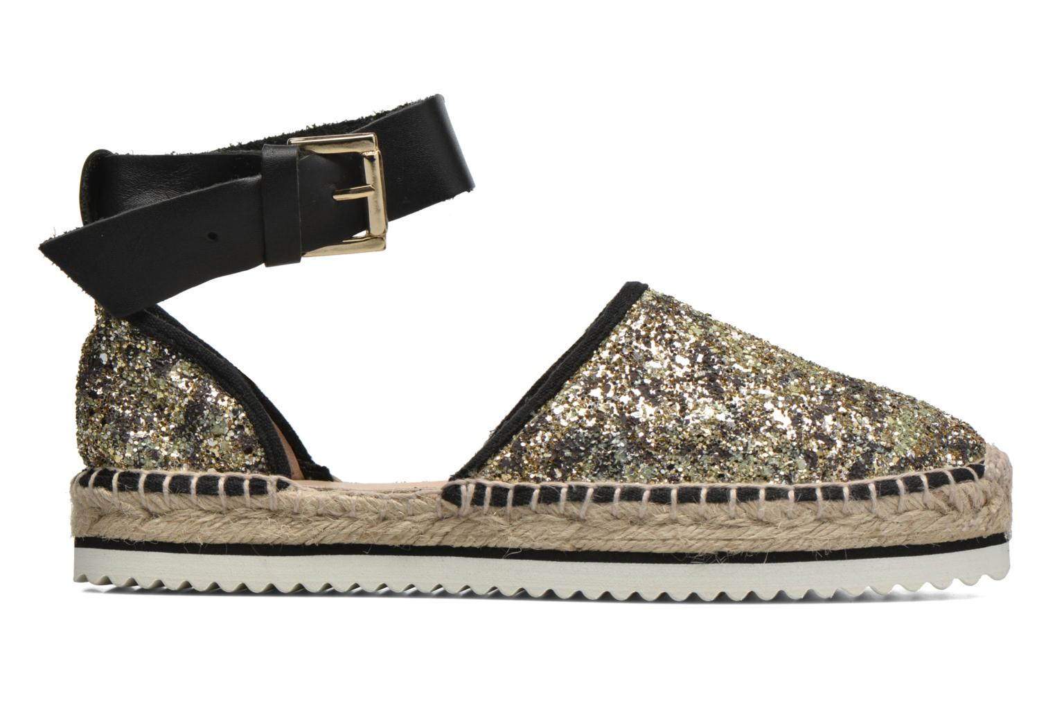 Sandals Anaki Chica Bronze and Gold back view