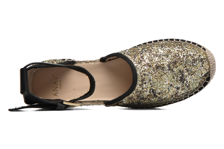 Sandali e scarpe aperte Anaki Chica Oro e bronzo immagine sinistra