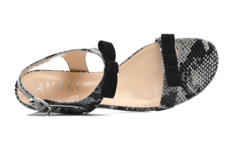 Sandales et nu-pieds Anaki Copa Multicolore vue gauche