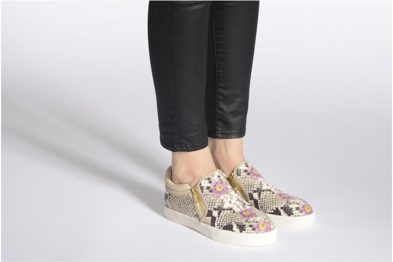 Sneaker Ash Intense mehrfarbig ansicht von unten / tasche getragen