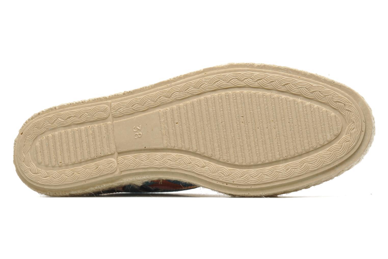 Chaussures à lacets Pare Gabia Lotus toile Multicolore vue haut