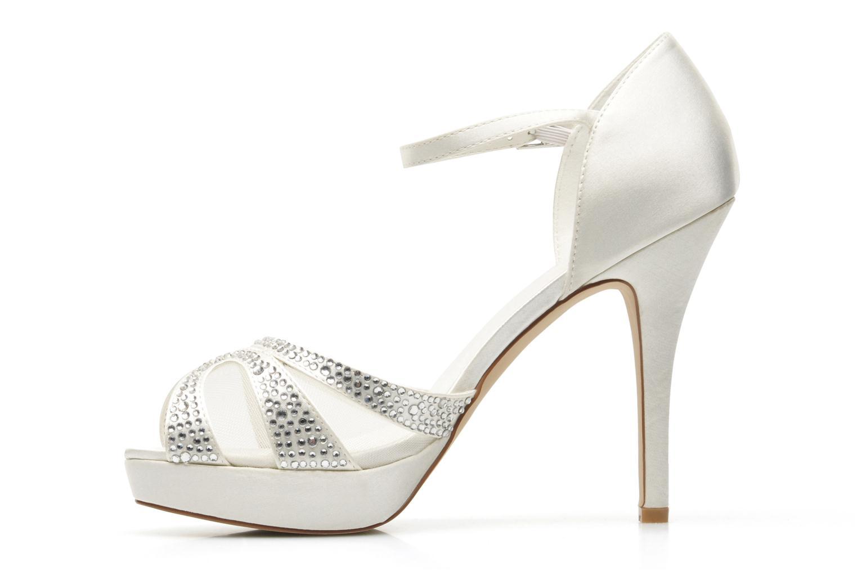 Sandales et nu-pieds Menbur Aster Blanc vue face