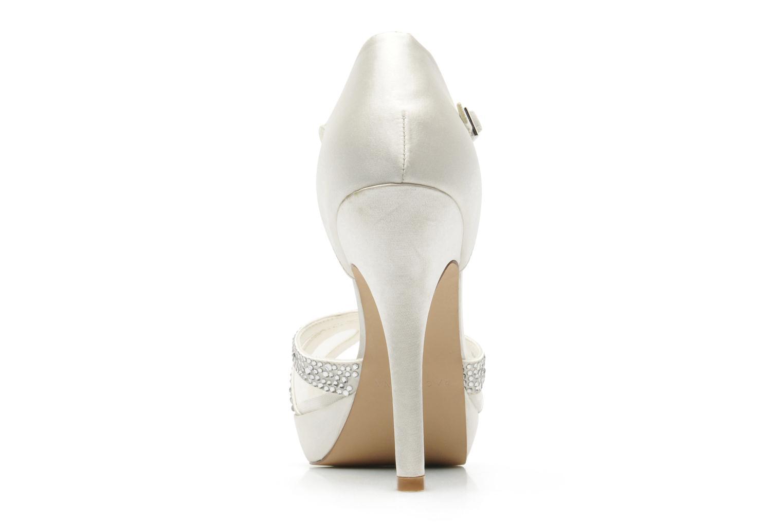 Sandales et nu-pieds Menbur Aster Blanc vue droite