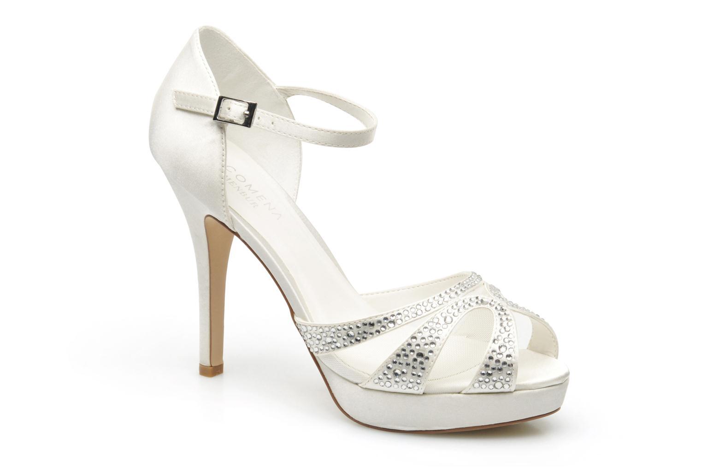 Sandaler Menbur Aster Hvid detaljeret billede af skoene