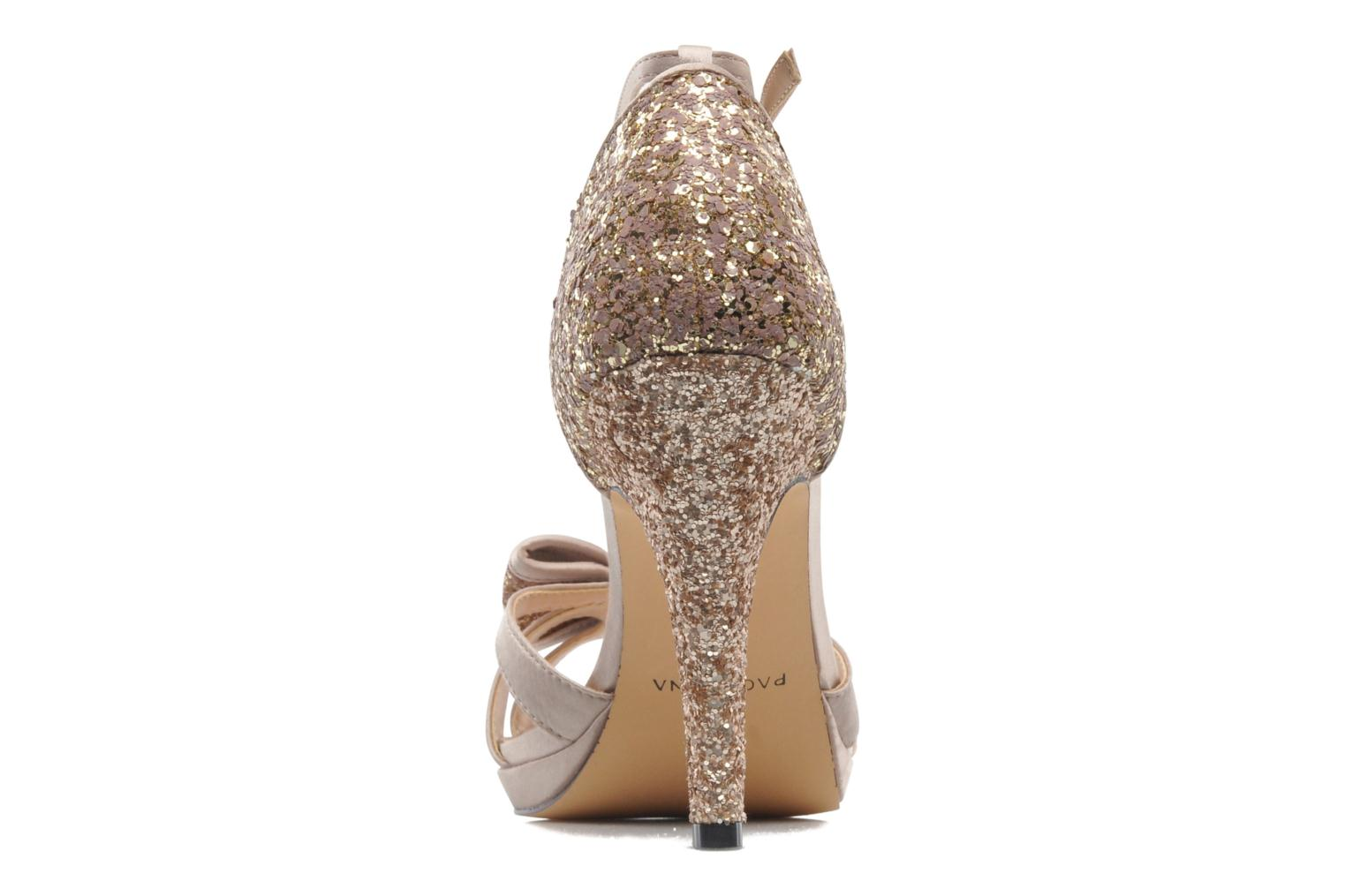 Sandals Menbur Balsamine Beige view from the right