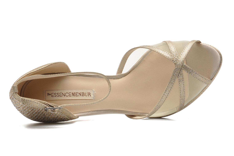 Sandales et nu-pieds Menbur Dahlia Or et bronze vue gauche