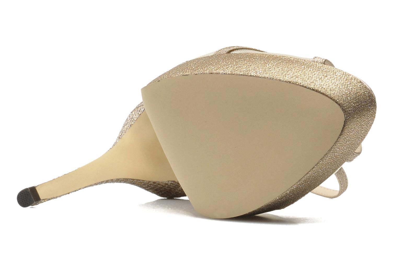 Sandales et nu-pieds Menbur Dahlia Or et bronze vue haut