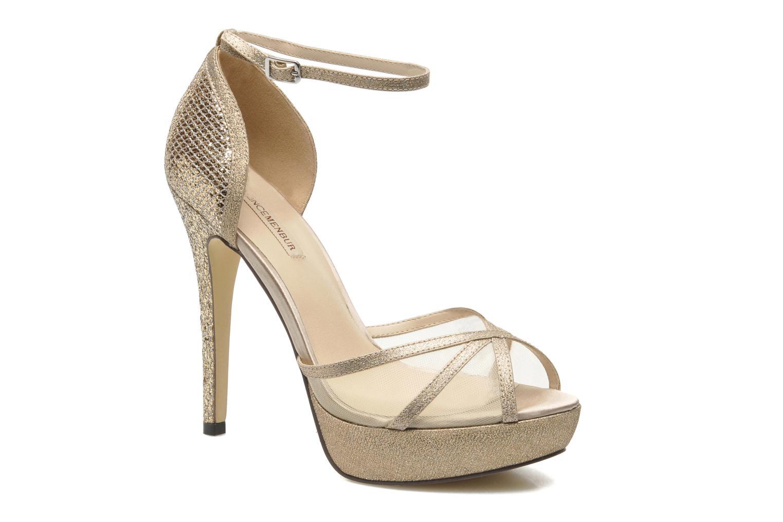Sandales et nu-pieds Menbur Dahlia Or et bronze vue détail/paire