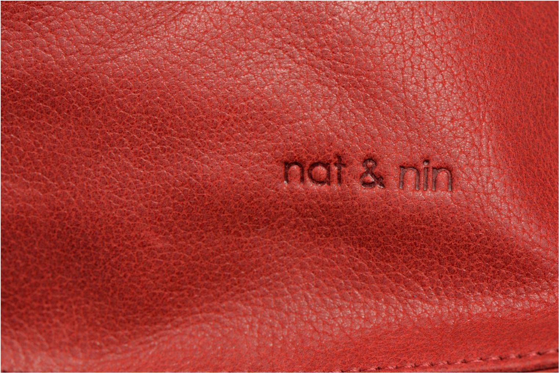 Sacs à main Nat & Nin Anouk Rouge vue gauche