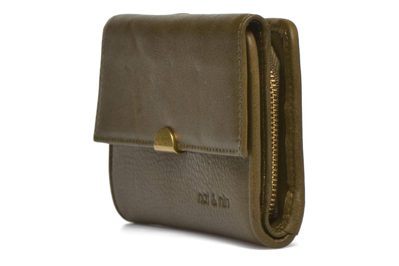 Portemonnaies & Clutches Nat & Nin Lotti grün schuhe getragen