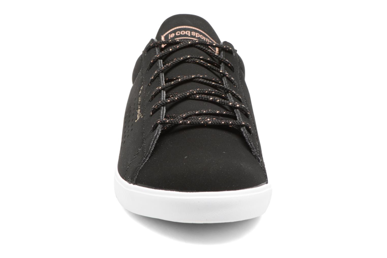 Sneaker Le Coq Sportif Agate LO S schwarz schuhe getragen