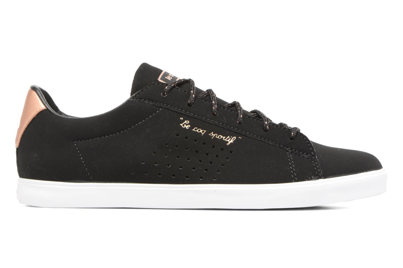 Sneaker Le Coq Sportif Agate LO S schwarz ansicht von hinten