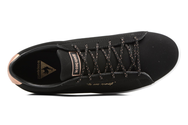 Sneaker Le Coq Sportif Agate LO S schwarz ansicht von links
