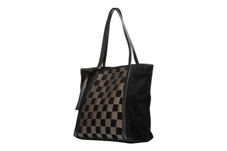 Sacs à main Loxwood Shopper Marilou Noir vue portées chaussures