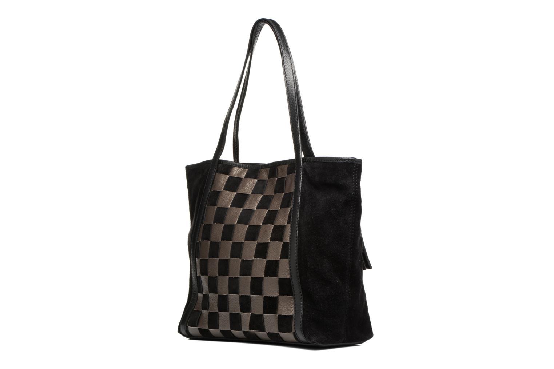 Handtaschen Loxwood Shopper Marilou schwarz ansicht von rechts