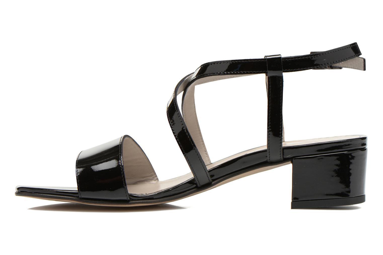 Sandales et nu-pieds Perlato Pasqua Noir vue face