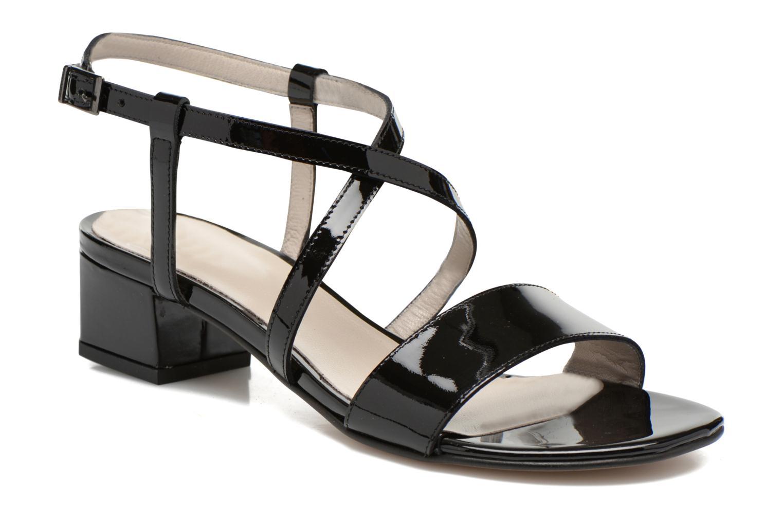 Sandales et nu-pieds Perlato Pasqua Noir vue détail/paire