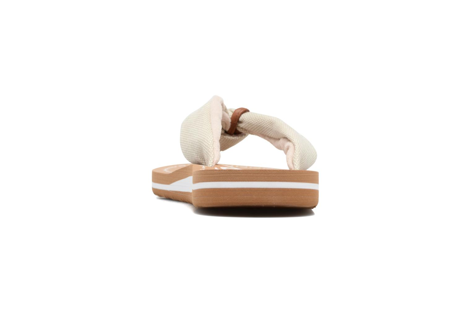 Flip flops S.Oliver Krink Beige view from the right