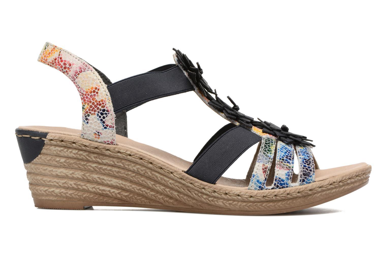 Sandales et nu-pieds Rieker Deena 62461 Bleu vue derrière