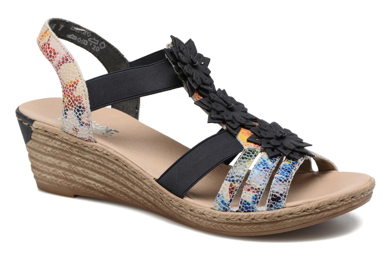 Grandes descuentos últimos zapatos Rieker Deena 62461 (Azul) - Sandalias Descuento