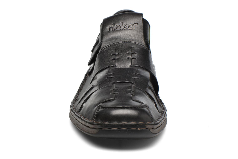 Sandales et nu-pieds Rieker Barry 05275 Noir vue portées chaussures