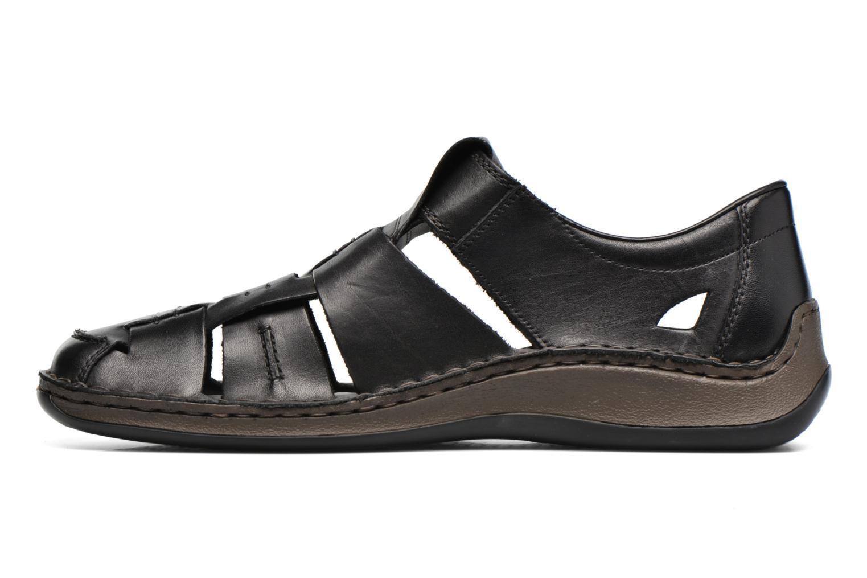Sandales et nu-pieds Rieker Barry 05275 Noir vue face