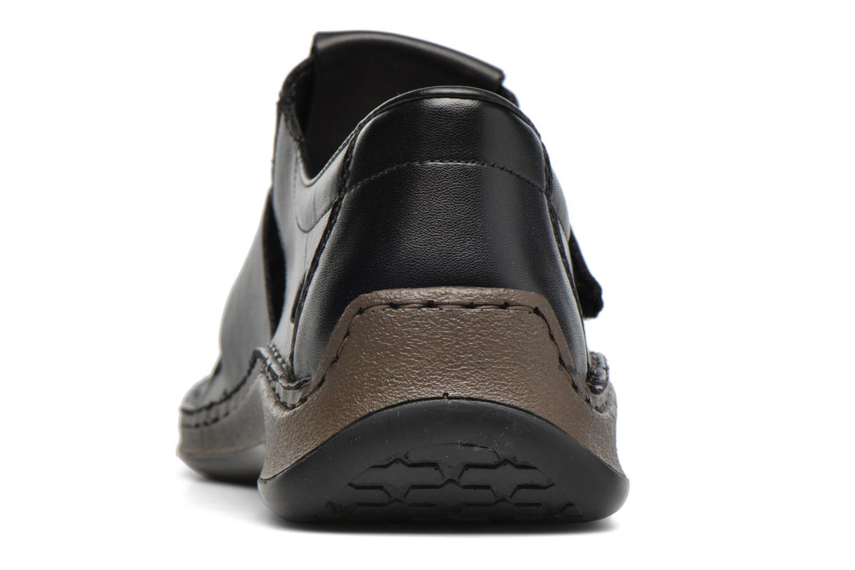 Sandales et nu-pieds Rieker Barry 05275 Noir vue droite