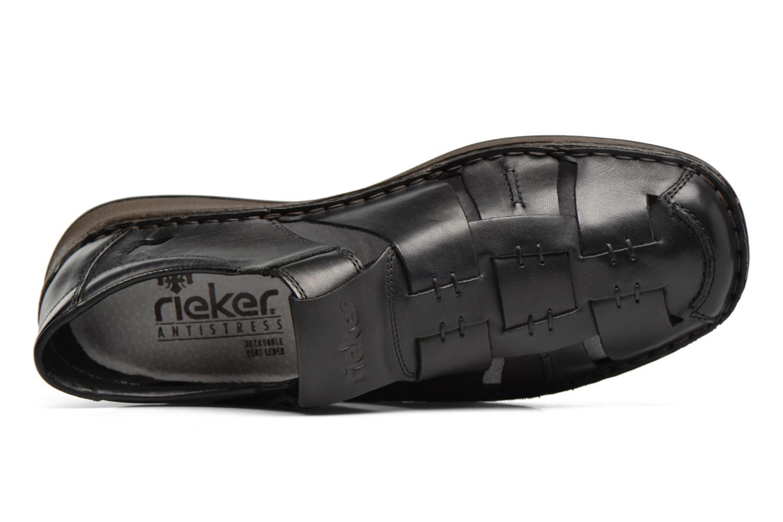 Sandales et nu-pieds Rieker Barry 05275 Noir vue gauche
