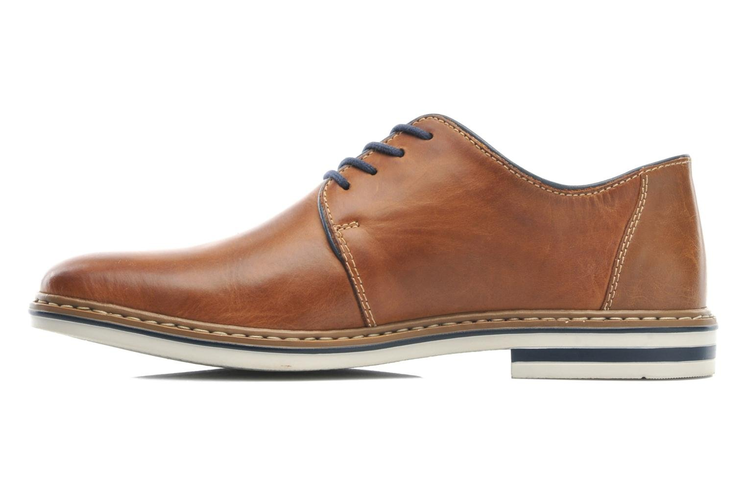 Lace-up shoes Rieker Brutus 1422 Brown front view